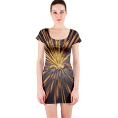 Pyrotechnics Thirty Eight Short Sleeve Bodycon Dress
