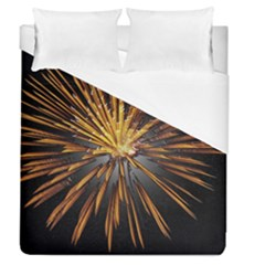Pyrotechnics Thirty Eight Duvet Cover (queen Size)