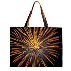 Pyrotechnics Thirty Eight Zipper Large Tote Bag by Nexatart