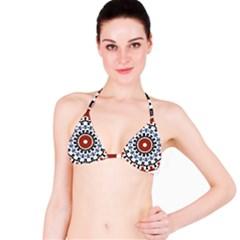 Mandala Art Ornament Pattern Bikini Top