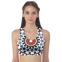 Mandala Art Ornament Pattern Sports Bra