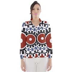Mandala Art Ornament Pattern Wind Breaker (women)