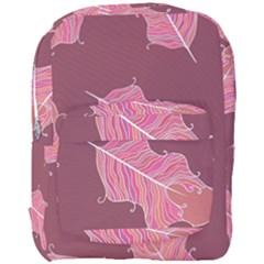 Plumelet Pen Ethnic Elegant Hippie Full Print Backpack