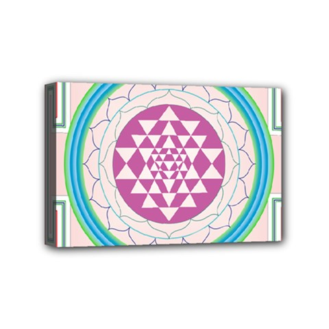 Mandala Design Arts Indian Mini Canvas 6  X 4