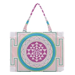Mandala Design Arts Indian Medium Tote Bag by Nexatart