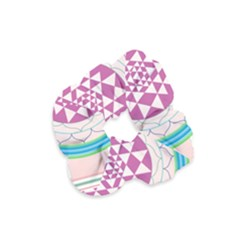 Mandala Design Arts Indian Velvet Scrunchie