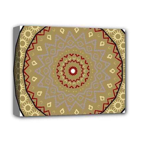 Mandala Art Ornament Pattern Deluxe Canvas 14  X 11  by Nexatart