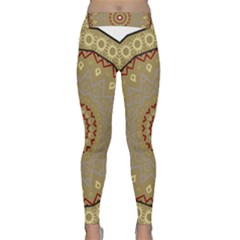 Mandala Art Ornament Pattern Classic Yoga Leggings