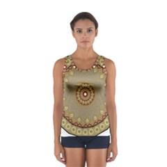 Mandala Art Ornament Pattern Sport Tank Top