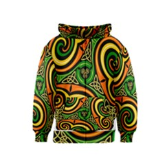 Celtic Celts Circle Color Colors Kids  Zipper Hoodie