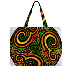 Celtic Celts Circle Color Colors Zipper Mini Tote Bag