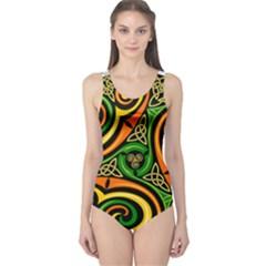 Celtic Celts Circle Color Colors One Piece Swimsuit