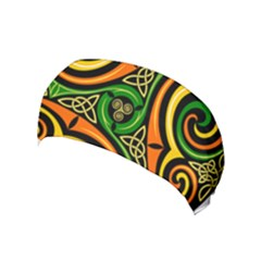 Celtic Celts Circle Color Colors Yoga Headband