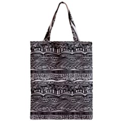 Ethno Seamless Pattern Zipper Classic Tote Bag
