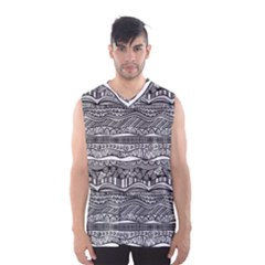 Ethno Seamless Pattern Men s Basketball Tank Top
