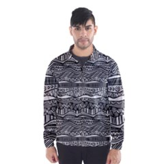 Ethno Seamless Pattern Wind Breaker (men)