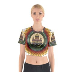 Building Mandala Palace Cotton Crop Top