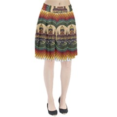 Building Mandala Palace Pleated Skirt