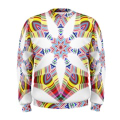 Colorful Chromatic Psychedelic Men s Sweatshirt