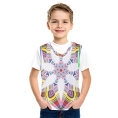 Colorful Chromatic Psychedelic Kids  Sportswear