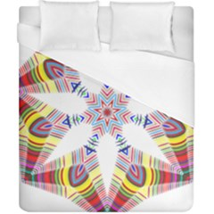 Colorful Chromatic Psychedelic Duvet Cover (california King Size)