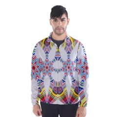 Colorful Chromatic Psychedelic Wind Breaker (men)