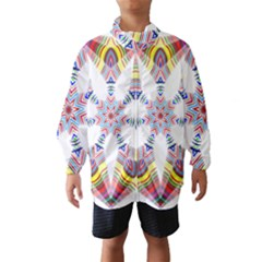 Colorful Chromatic Psychedelic Wind Breaker (kids)