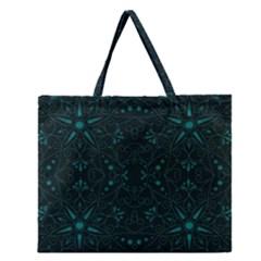 Majestic Pattern C Zipper Large Tote Bag by MoreColorsinLife