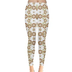 Multicolor Graphic Pattern Leggings  by dflcprints