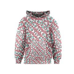 Multicolor Graphic Pattern Kids  Pullover Hoodie by dflcprints