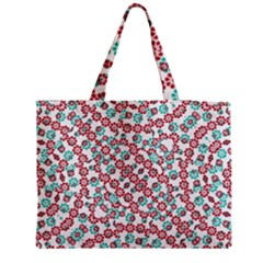 Multicolor Graphic Pattern Medium Tote Bag by dflcprints