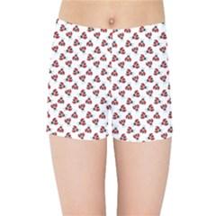 Ladybug Kids Sports Shorts by stockimagefolio1