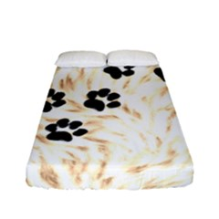 Paws Fitted Sheet (full/ Double Size) by stockimagefolio1