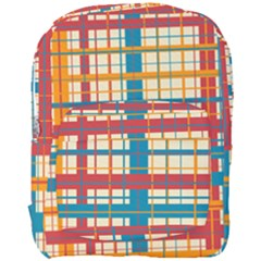 Plaid Pattern Full Print Backpack by linceazul