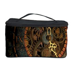 Steampunk, Awesoeme Clock, Rusty Metal Cosmetic Storage Case by FantasyWorld7