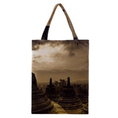 Borobudur Temple Indonesia Classic Tote Bag