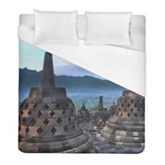 Borobudur Temple  Morning Serenade Duvet Cover (full/ Double Size)