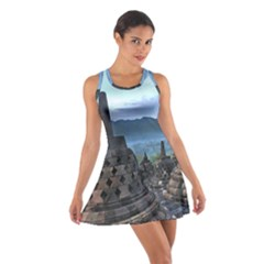 Borobudur Temple  Morning Serenade Cotton Racerback Dress