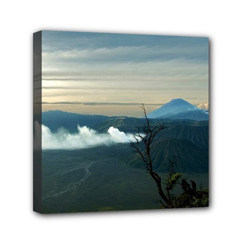 Bromo Caldera De Tenegger  Indonesia Mini Canvas 6  X 6  by Nexatart
