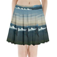 Bromo Caldera De Tenegger  Indonesia Pleated Mini Skirt by Nexatart