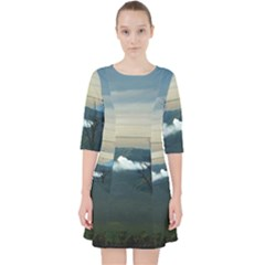 Bromo Caldera De Tenegger  Indonesia Pocket Dress by Nexatart