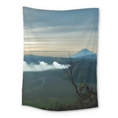 Bromo Caldera De Tenegger  Indonesia Medium Tapestry