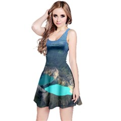 Kelimutu Crater Lakes  Indonesia Reversible Sleeveless Dress