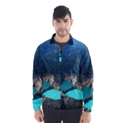 Kelimutu Crater Lakes  Indonesia Wind Breaker (men)