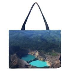 Kelimutu Crater Lakes  Indonesia Zipper Medium Tote Bag