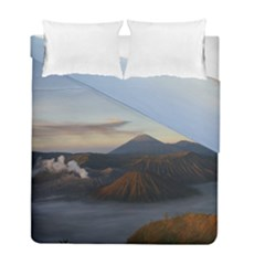 Sunrise Mount Bromo Tengger Semeru National Park  Indonesia Duvet Cover Double Side (full/ Double Size) by Nexatart