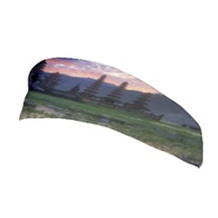 Tamblingan Morning Reflection Tamblingan Lake Bali  Indonesia Stretchable Headband