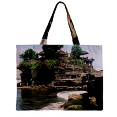 Tanah Lot Bali Indonesia Zipper Mini Tote Bag