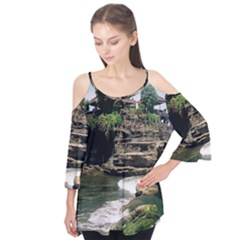 Tanah Lot Bali Indonesia Flutter Tees