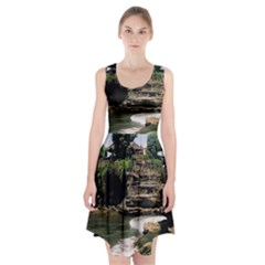Tanah Lot Bali Indonesia Racerback Midi Dress